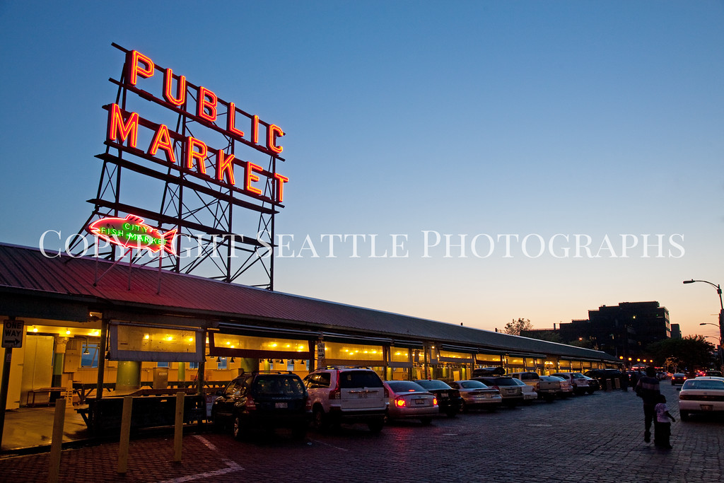 Pike Place Market Evening 119