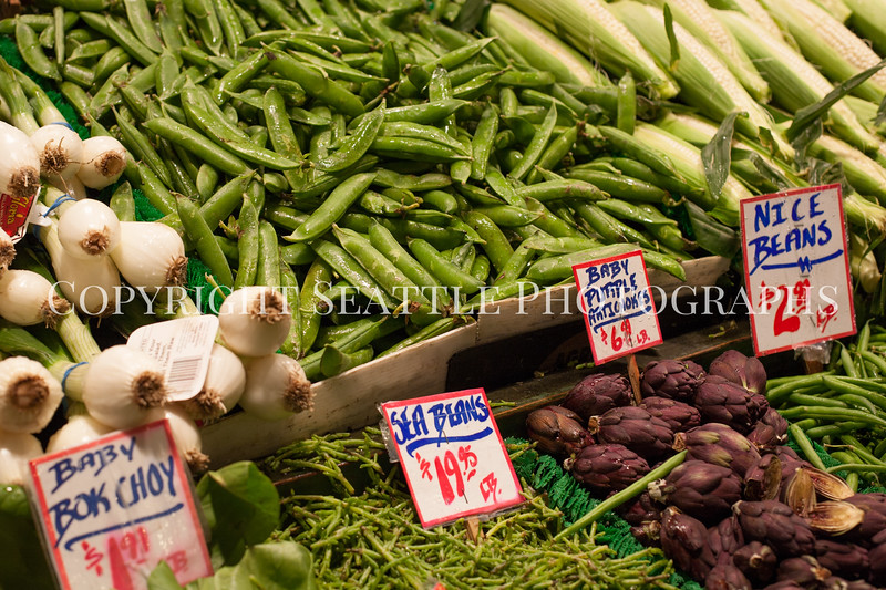 Pike Place Market Vegetables 107