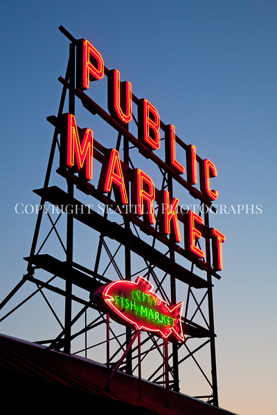 Pike Place Market Evening 117