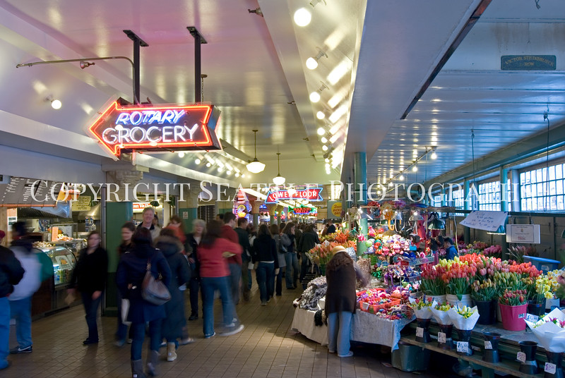 Pike Place Market Main Arcade 111
