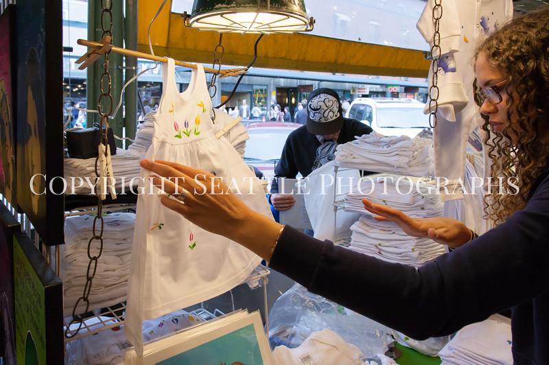 Pike Place Market Craft Vendor 130