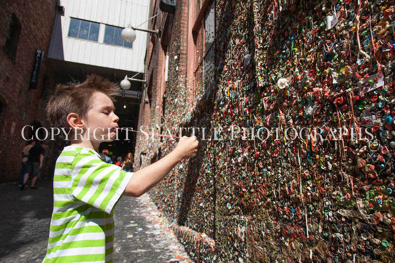 Pike Place Market Gum Wall 125
