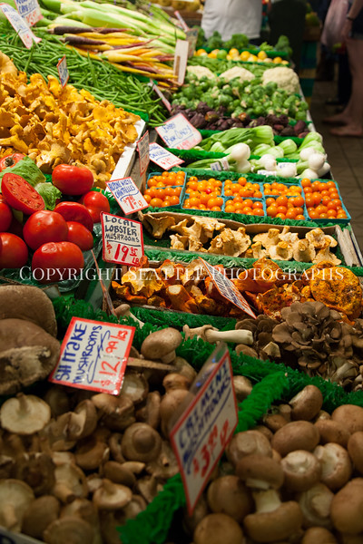 Pike Place Market Vegetables 114