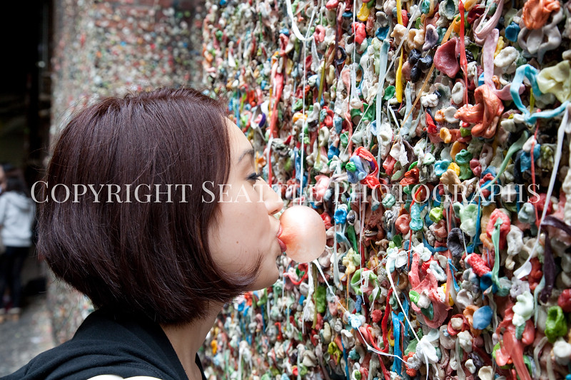 Pike Place Market Gum Wall 123