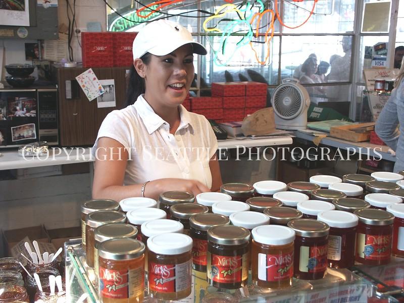 Pike Place Market Jelly Vendor 2