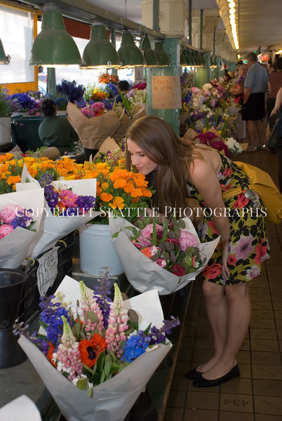 Pike Place Market Flowers 31