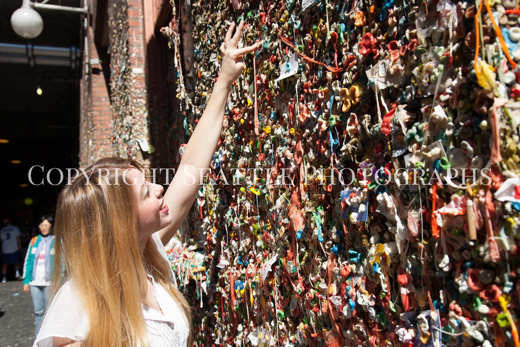 Pike Place Market Gum Wall 132