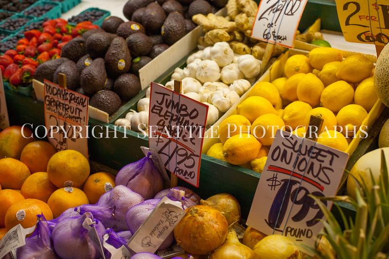 Pike Place Market Fruit 107