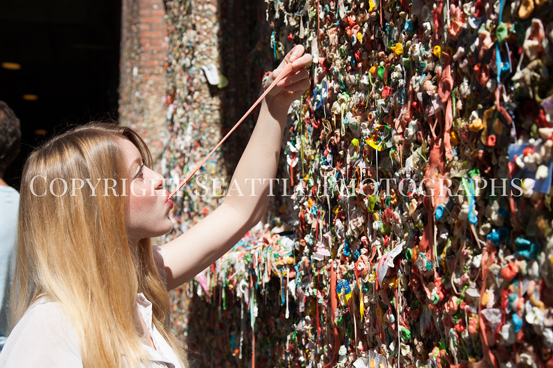 Pike Place Market Gum Wall 130