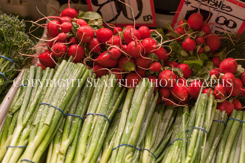Pike Place Market Vegetables 105