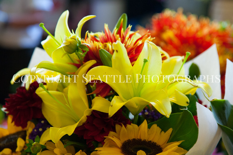Pike Place Market Flowers 109