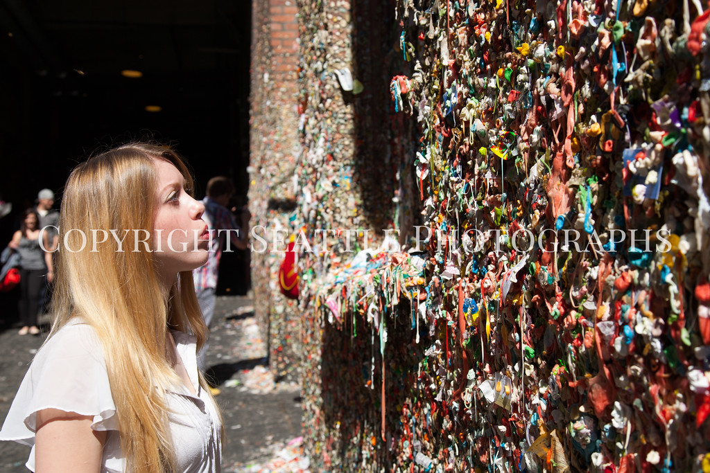 Pike Place Market Gum Wall 127