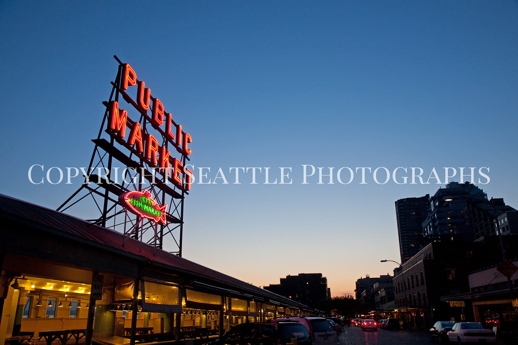Pike Place Market Evening 118