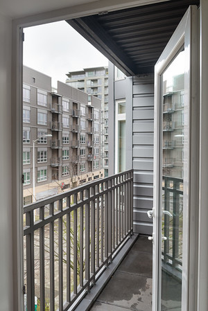 Tall Ceilings and Big Windows in this Belltown Condo