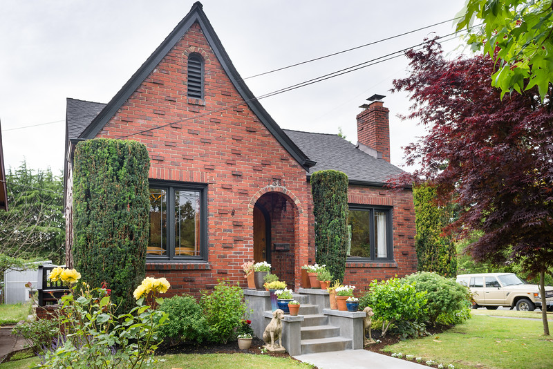 See this 1928 Brick Tudor with Garden in Seattle's Ballard neighborhood - Listed by Mack McCoy and Cynthia Creasey - NiceSeattleHomes.com