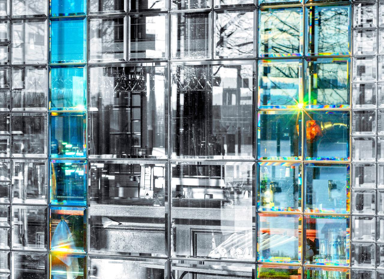 restaurant glass door