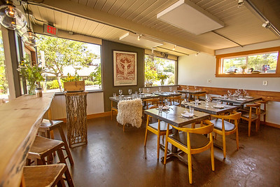 Aelder Restaurant on Orcas Island in Washington