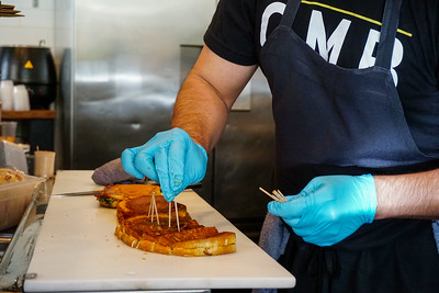 Cheese Meats Bread at Uwajimaya in Seattle