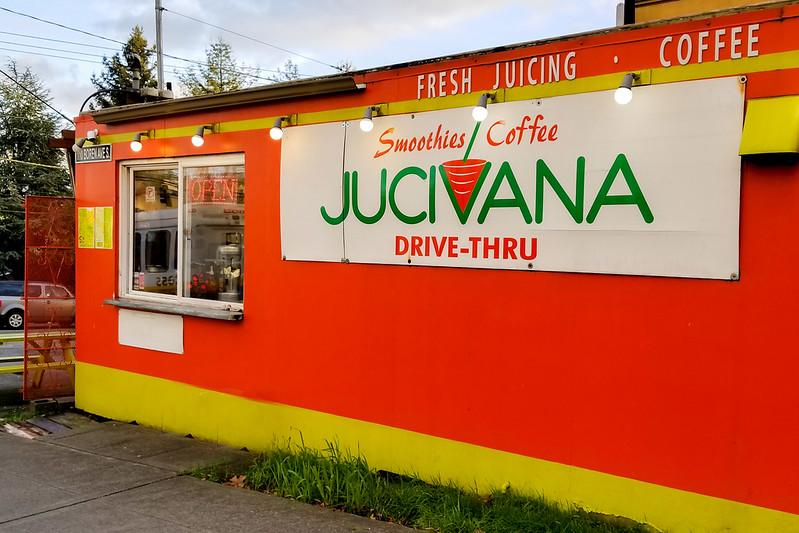 Jucivana Drive Thru in Capitol Hill, Seattle