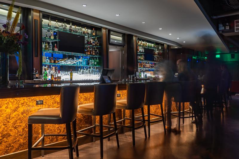 Twilight at Ascend Prime Steak and Sushi Restaurant in Bellevue, WA