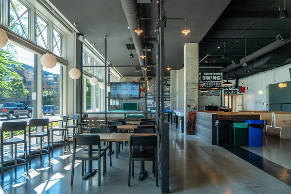 Flatstick Pub in South Lake Union Seattle
