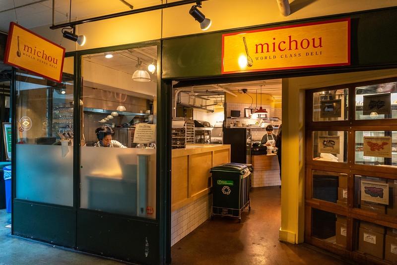 Michou Deli at Pike Place Market in Seattle, WA