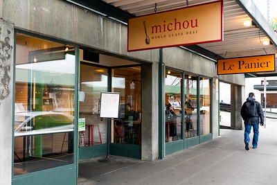 Michou Deli at Pike Place Market in Seattle, WA