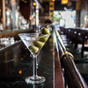 Classic Olive Martini at Metropolitan Grill in Seattle