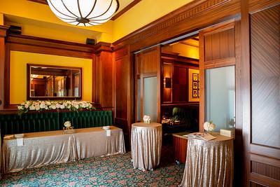Metropolitan Grill - Wedding Setup