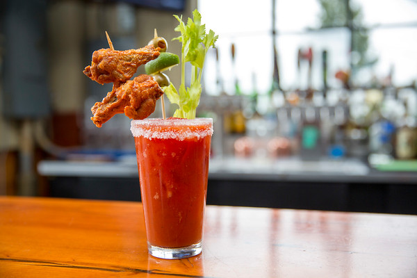 Bloody Mary at Wing Dome Seattle