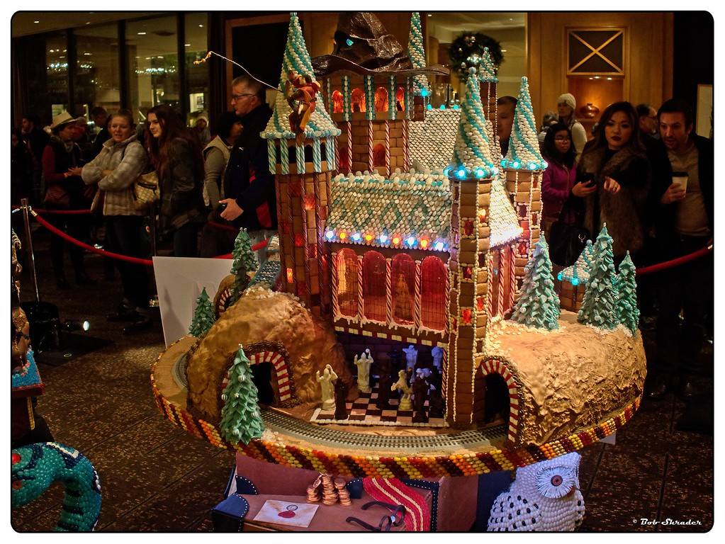 Seattle Gingerbread Village