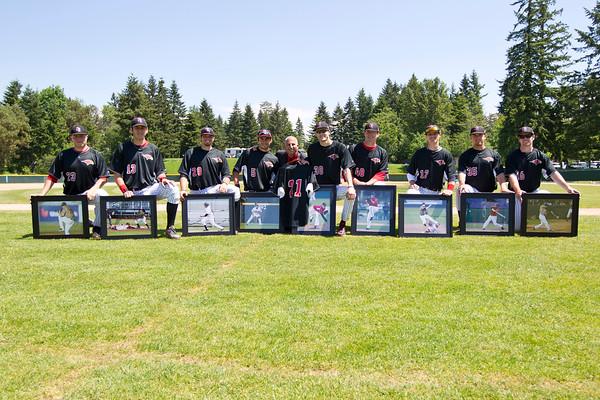 Baseball Seniors 2012