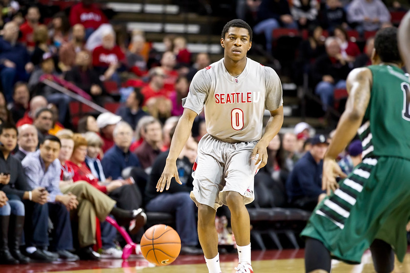 Men's Basketball Seattle University vs Portland State University. Images are for personal use only. Under no circumstances are these photos approved for promoting commercial products or allowed to appear on commercial items. Per NCAA Division I Manual Section 12.5.2.2