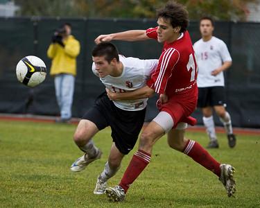 Mens Soccer November 1, 2008
