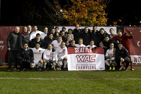 Men's Soccer November 9, 2013