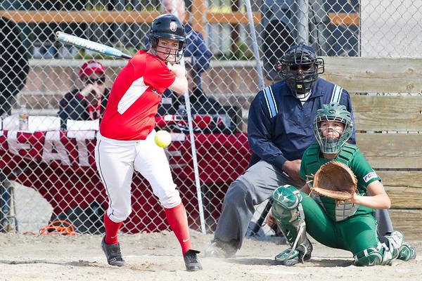 Softball April 14, 2012