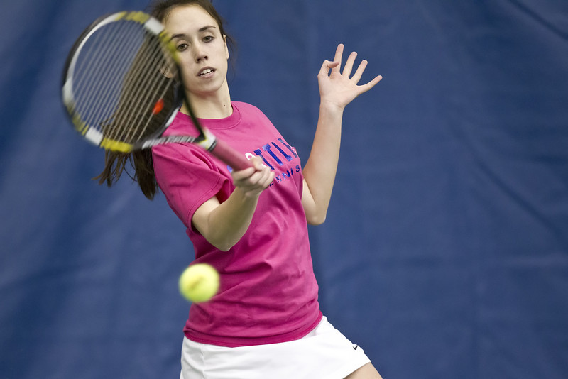 Seattle University Women's Tennis. Images are for personal use only. Under no circumstances are these photos approved for promoting commercial products or allowed to appear on commercial items. Per NCAA Division I Manual Section 12.5.2.2