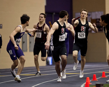 Mens Indoor Track January 29, 2011