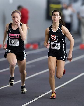 Womens Indoor Track February 15, 2009