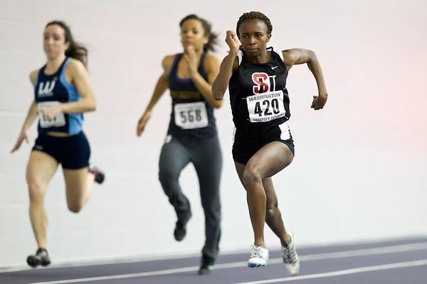 Womens Indoor Track January 14, 2012