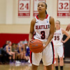 Women's Basketball Seattle University vs University of Portland. Images are for personal use only. Under no circumstances are these photos approved for promoting commercial products or allowed to appear on commercial items. Per NCAA Division I Manual Section 12.5.2.2