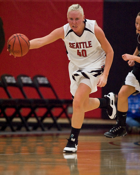 Women's Basketball Seattle University vs Montana Tech. Images are for personal use only. Under no circumstances are these photos approved for promoting commercial products or allowed to appear on commercial items. Per NCAA Division I Manual Section 12.5.2.2