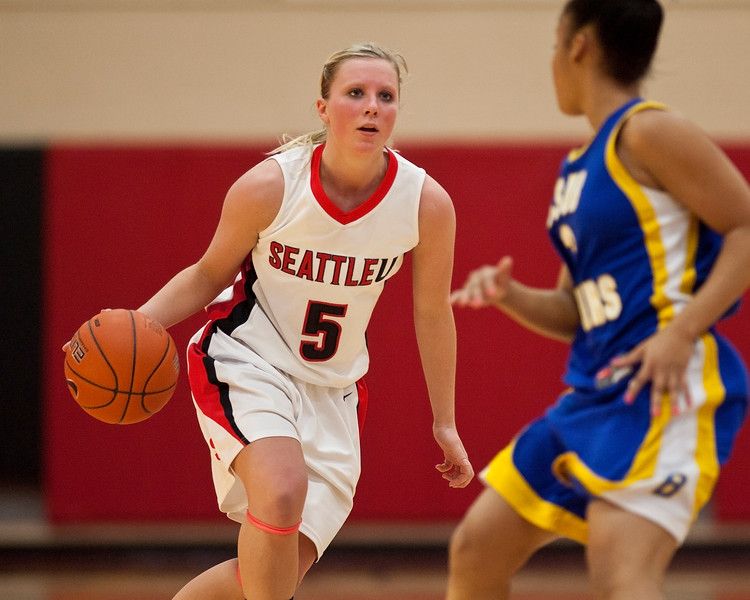 Women's Basketball Seattle University vs Cal State Bakersfield. Images are for personal use only. Under no circumstances are these photos approved for promoting commercial products or allowed to appear on commercial items. Per NCAA Division I Manual Section 12.5.2.2