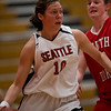 Women's Basketball Seattle University vs South Dakota. Images are for personal use only. Under no circumstances are these photos approved for promoting commercial products or allowed to appear on commercial items. Per NCAA Division I Manual Section 12.5.2.2