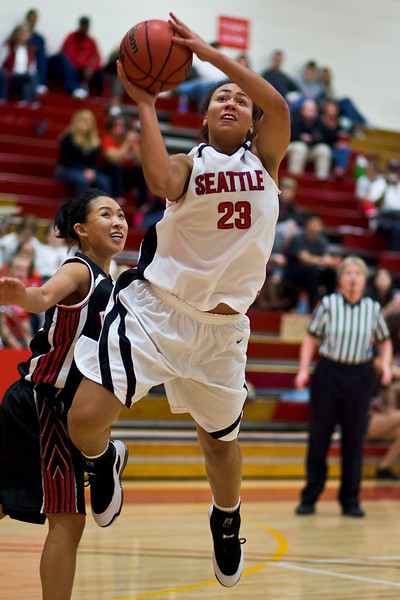 Women's Basketball Seattle University vs Pacific University. Images are for personal use only. Under no circumstances are these photos approved for promoting commercial products or allowed to appear on commercial items. Per NCAA Division I Manual Section 12.5.2.2