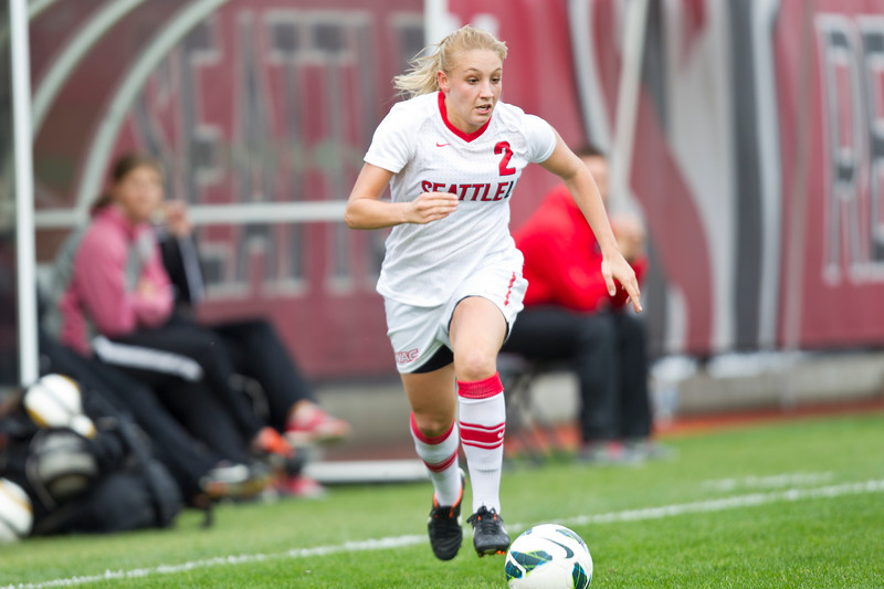 Women's Soccer Seattle University vs University of Denver. Images are for personal use only. Under no circumstances are these photos approved for promoting commercial products or allowed to appear on commercial items. Per NCAA Division I Manual Section 12.5.2.2
