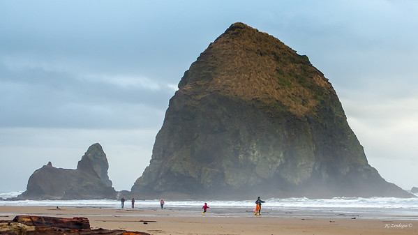 Haystack Rock Winter