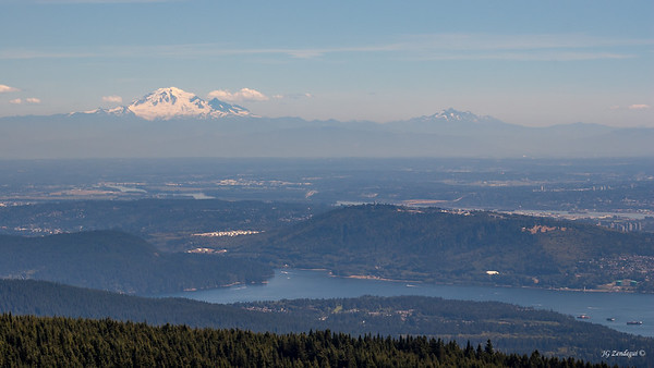 Mt Baker from Grouse Mountain