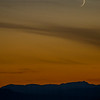 Sunset with Moon 2