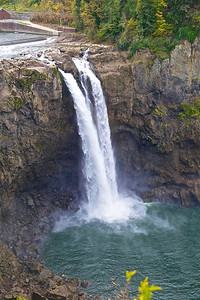"""Snoqualmie Falls during the """"dry season""""  Seattle"""